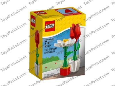 Lego 40187 Lego Flower Display Set Parts Inventory And Instructions