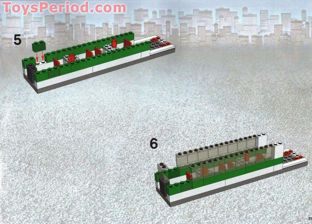 lego high speed train instructions
