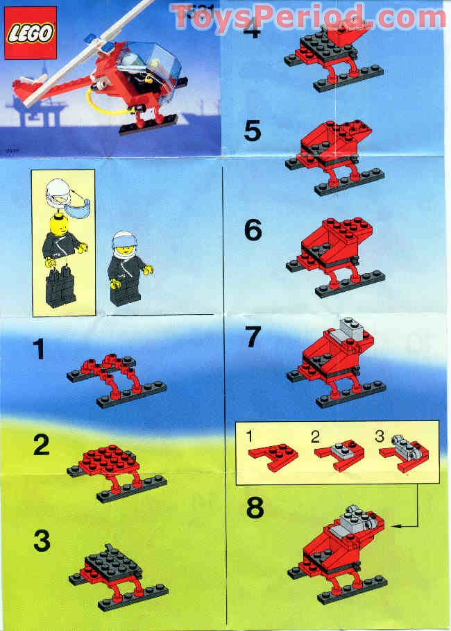 Lego 6531 Flame Chaser Set Parts Inventory And Instructions Lego