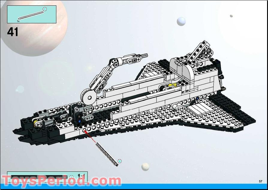 lego space shuttle parts - photo #5