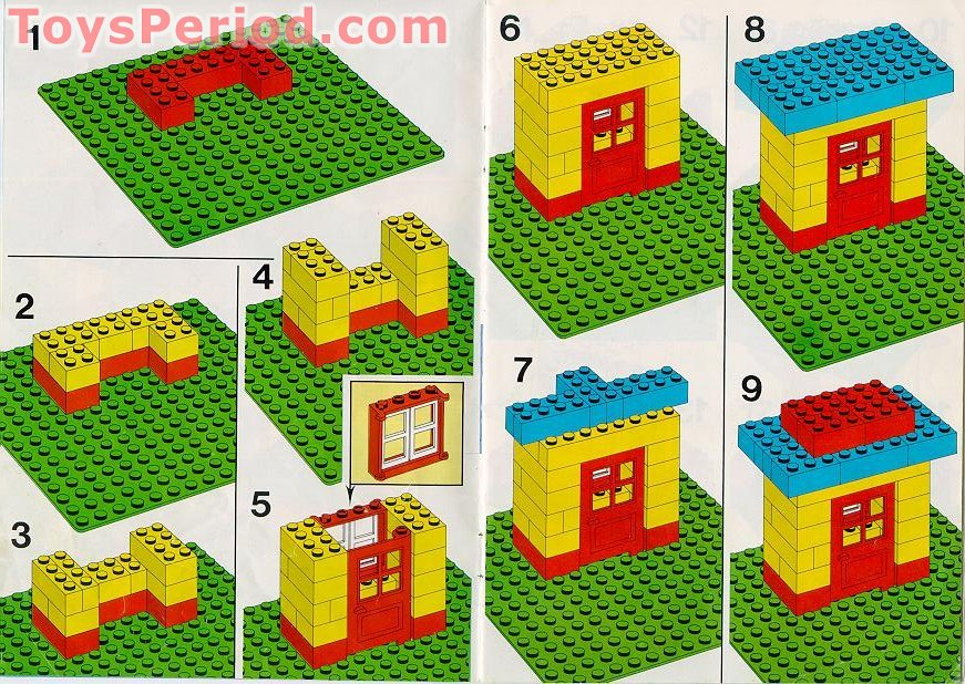 Lego 530 1 Basic Building Set Set Parts Inventory And Instructions