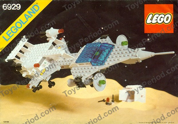 Lego 6929 Starfleet Voyager Set Parts Inventory And Instructions