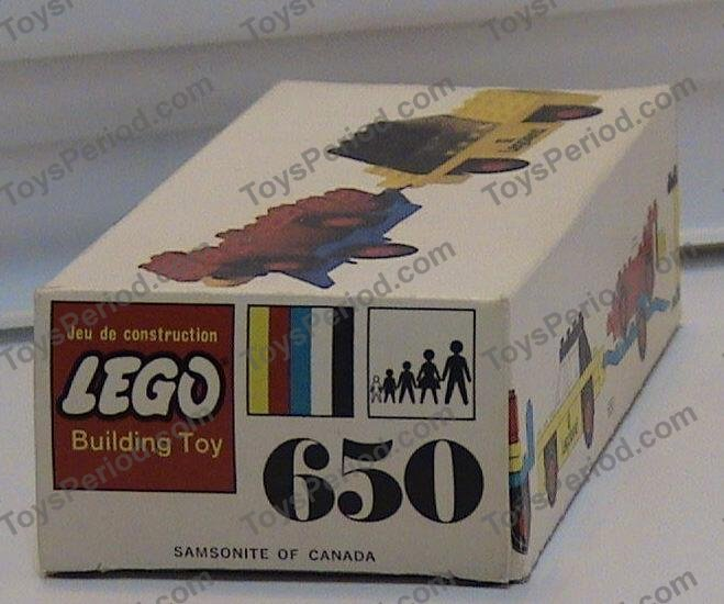 LEGO 650-1 Car with Trailer and Racing Car Image 2