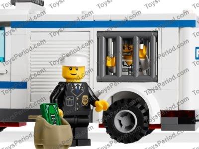 Lego 7286 Prisoner Transport Set Parts Inventory And Instructions