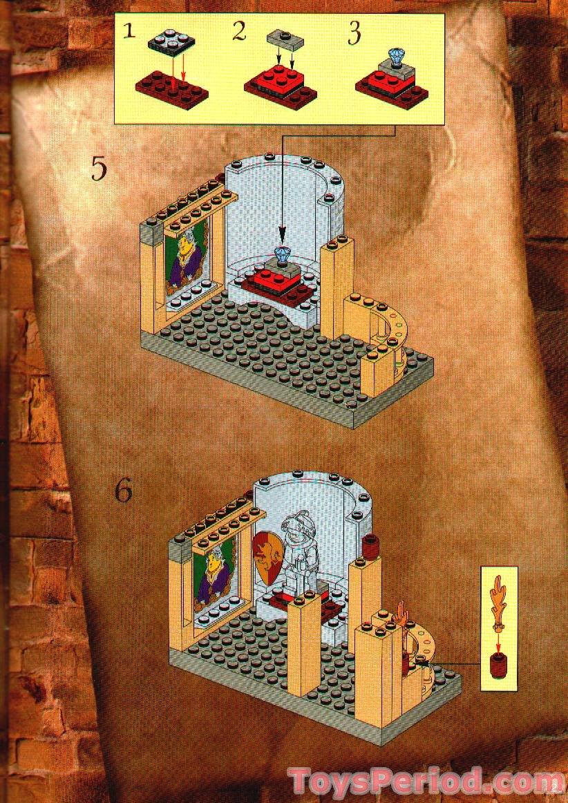 Lego 4709 Hogwarts Castle Set Parts Inventory And Instructions