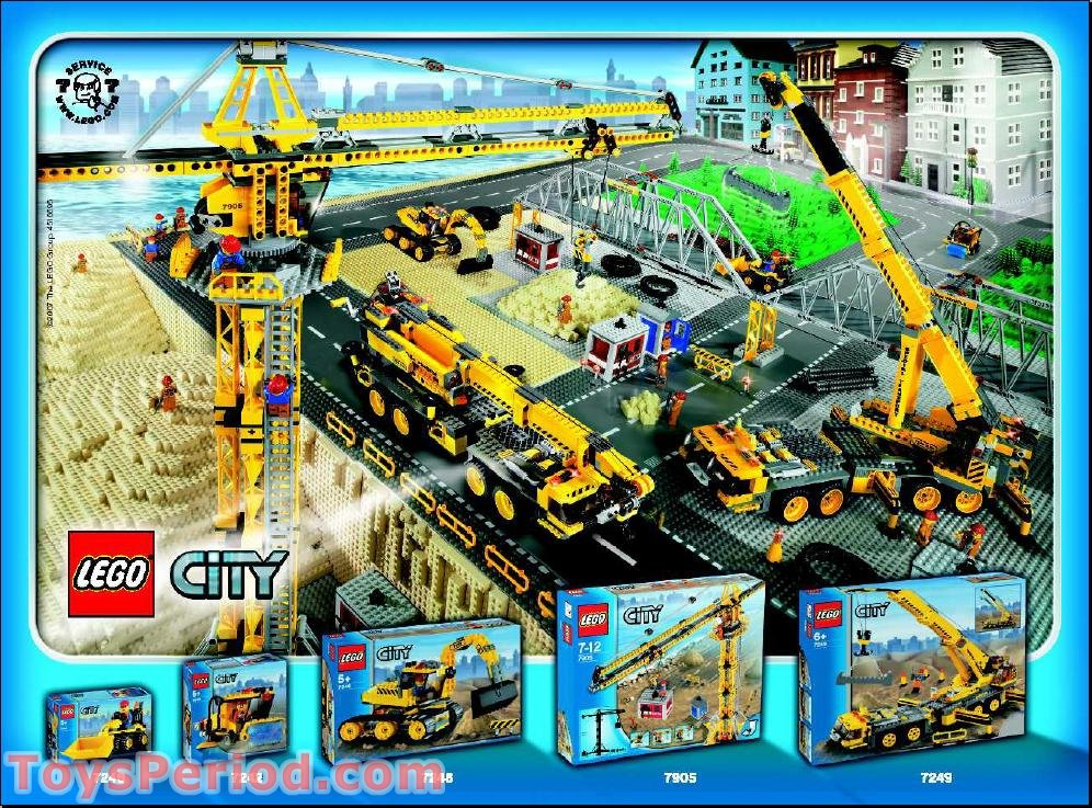 lego 7993 service station set parts inventory and
