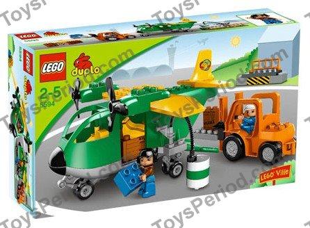 Lego 5594 Cargo Plane Set Parts Inventory And Instructions Lego