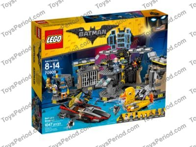 Lego 70909 Batcave Break In Set Parts Inventory And Instructions