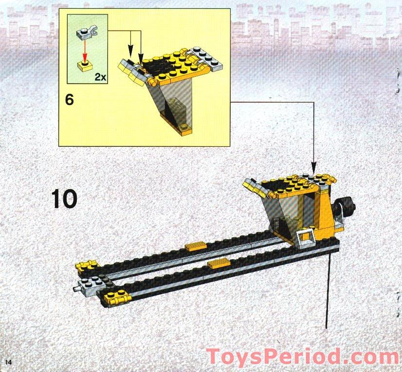 Lego 4514 Cargo Crane Set Parts Inventory And Instructions