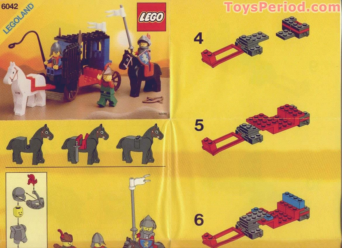 lego 6042 dungeon hunters set parts inventory and. Black Bedroom Furniture Sets. Home Design Ideas