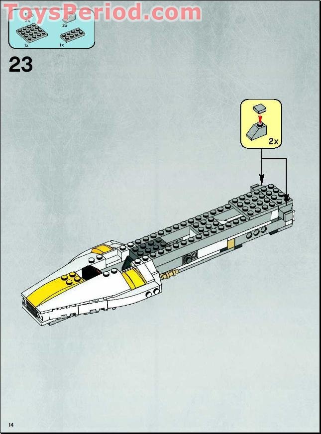 Lego 7658 Y Wing Fighter Set Parts Inventory And Instructions Lego