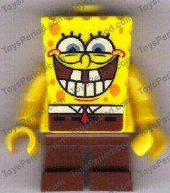Grin with Bottom Teeth 3833 SpongeBob SquarePants Minifigure Lego SpongeBob