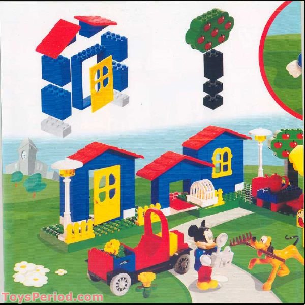 Lego 4167 Mickey S Mansion Set Parts Inventory And