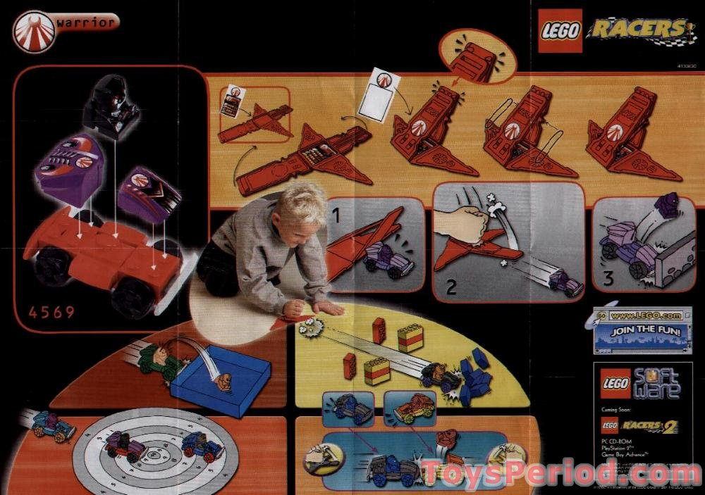 Lego 4569 Warrior Set Parts Inventory And Instructions