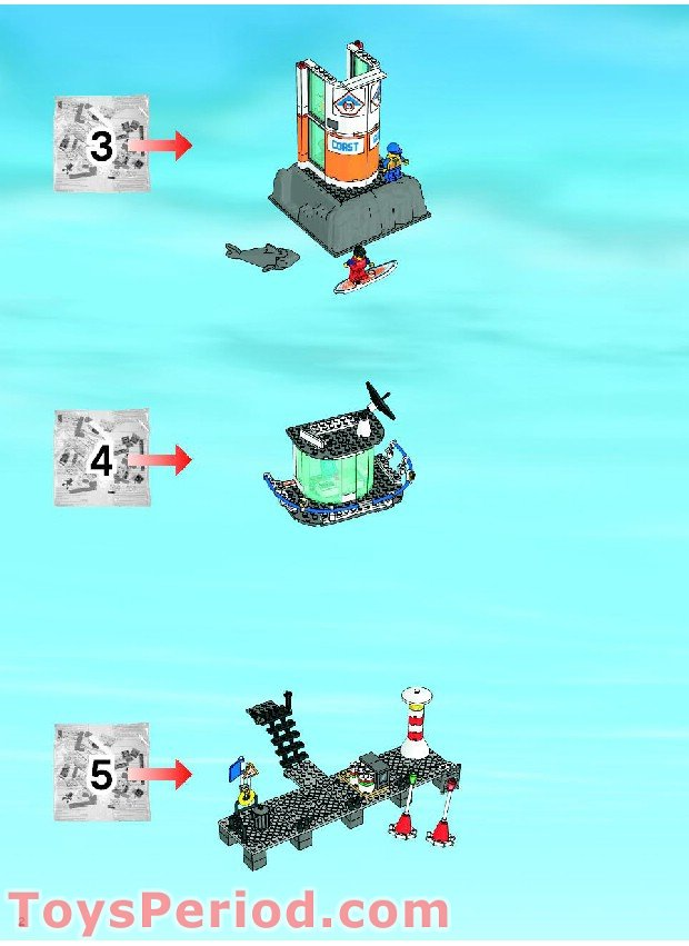 lego coast guard boat instructions