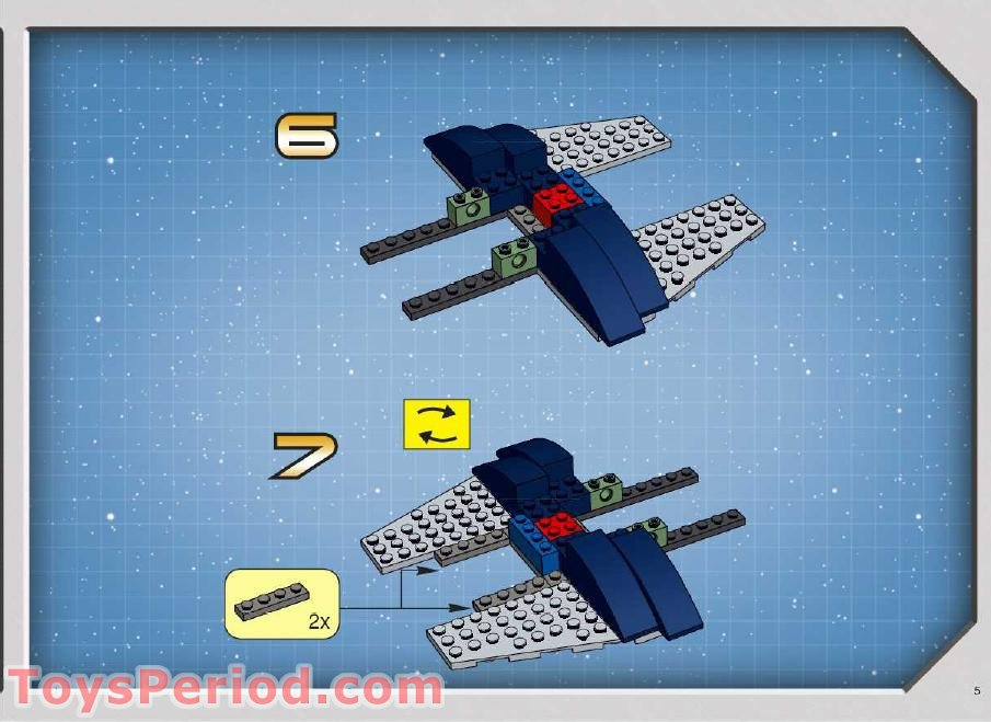 lego jango fett slave 1 instructions