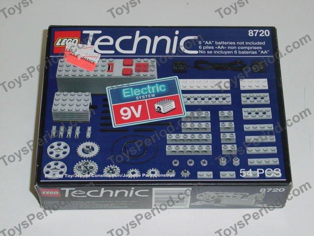 lego 8720 motor set 9v set parts inventory and. Black Bedroom Furniture Sets. Home Design Ideas