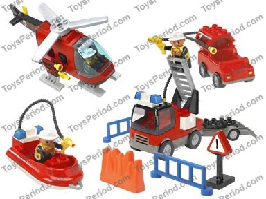 duplo fire boat instructions