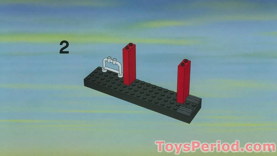 Lego 1x4 Brick with Studs on One Side Dark Bluish Gray Lot of 6New