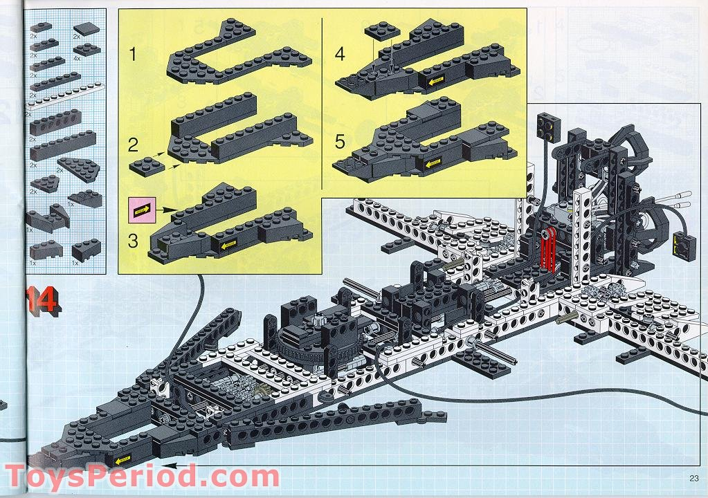 lego space shuttle parts list - photo #41