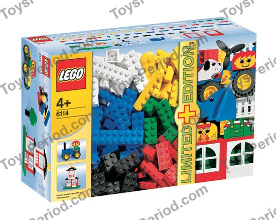 lego 6114 creator 200 plus 40 special elements set parts inventory and instructions lego. Black Bedroom Furniture Sets. Home Design Ideas