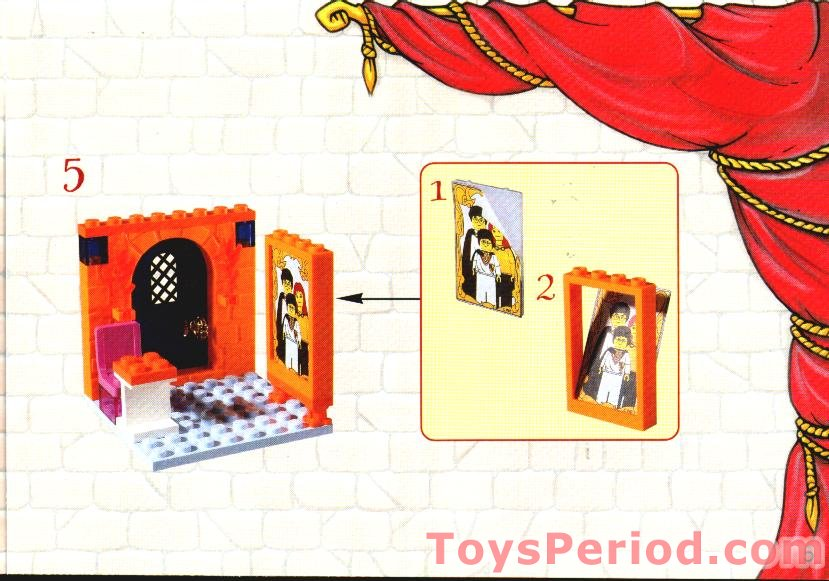 Lego 4721 Hogwarts Classroom Set Parts Inventory And Instructions