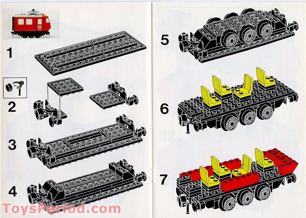 Lego curved piece rail train 12v 4,5v ref 3230b//track set 7740 7745 7735 7725