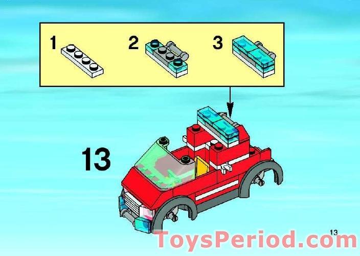 lego city fire station 7945 instructions
