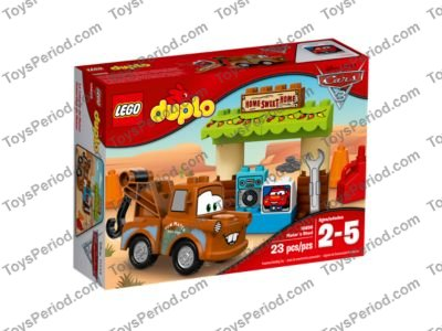 Lego 10856 Mater S Shed Set Parts Inventory And