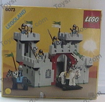 Lego 6073 Knights Castle Set Parts Inventory And Instructions