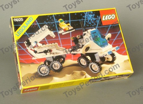 SW12 Lego Space Interplanetary Rover Futuron Droid Minifigure from 6925 NEW