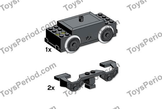 Lego 10153 Electric Train Motor 9v My Own Train Set