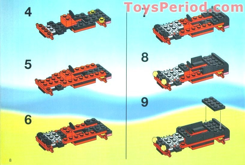 lego 6561 hot rod club set parts inventory and. Black Bedroom Furniture Sets. Home Design Ideas