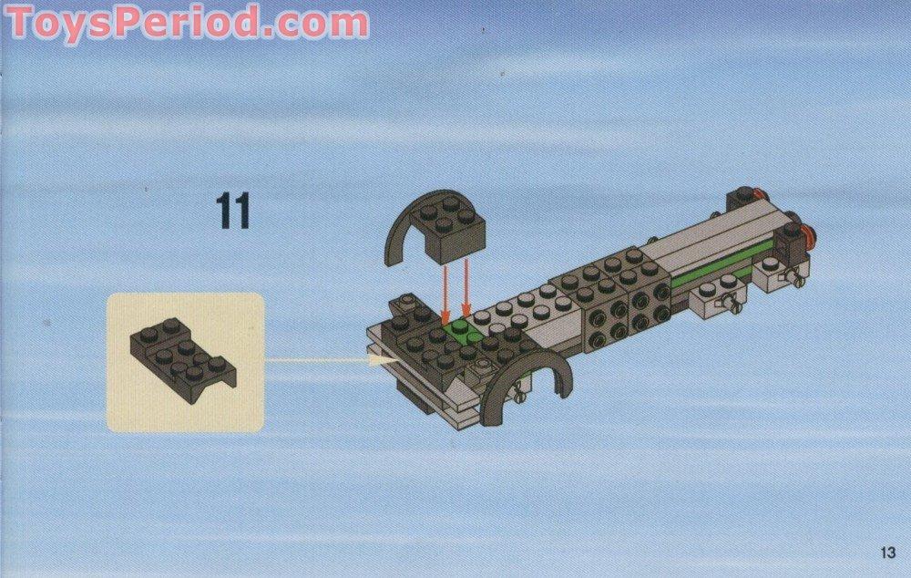 Tile 1 x 4 in Blue part no 2431 6x Lego