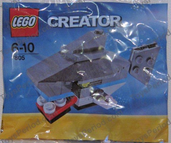 Lego Shark Toys : Lego shark set parts inventory and instructions