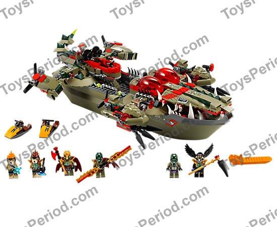 Raven Bird Lego Legends of Chima-Mask Helmet Bird Black Gold Silver New