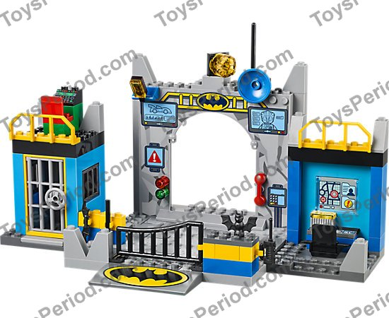 LEGO 10672 Batman: Defend the Batcave Set Parts Inventory and ...