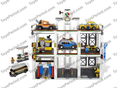 Lego 4207 City Garage Set Parts Inventory And Instructions Lego
