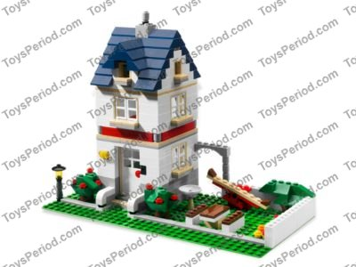 Lego 5891 Apple Tree House Set Parts Inventory And Instructions
