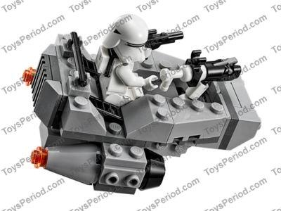 Lego 75126 First Order Snowspeeder Set Parts Inventory And