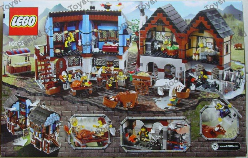 LEGO 10193 Medieval Market Village Set Parts Inventory and ...