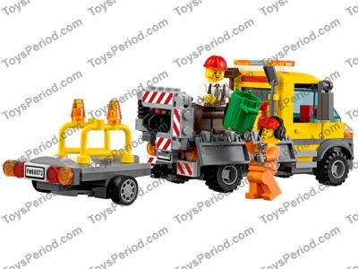 Lego 60073 Service Truck Set Parts Inventory And