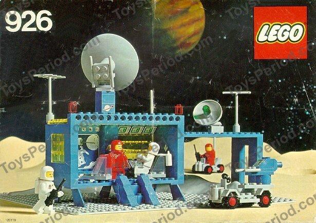 Lego 926 Space Command Centre Center Non Us Version Of 493 Set