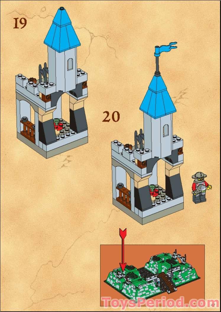 Lego 6 x Bogenstein 6091  1x2x1 1//3   dunkelgrün