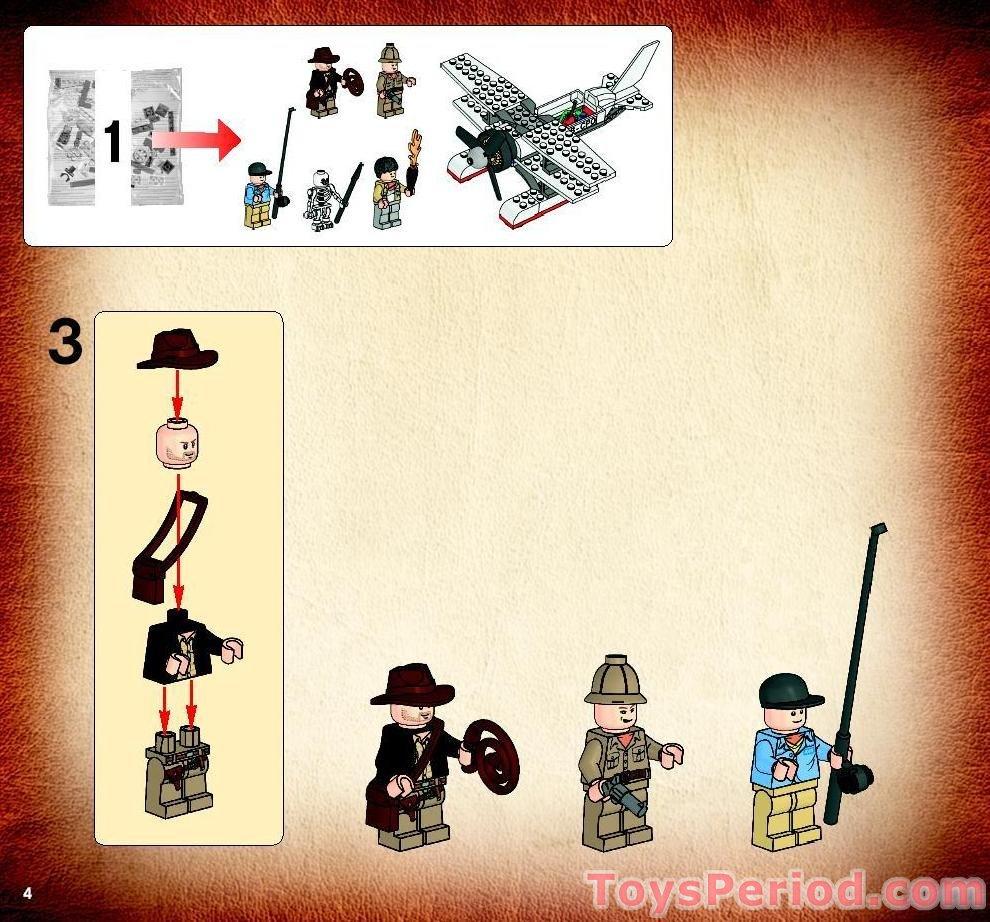 Dark Tan Arms. LOT OF 7 LEGO Torso 2 Pockets and Belt Pattern Rene Belloq