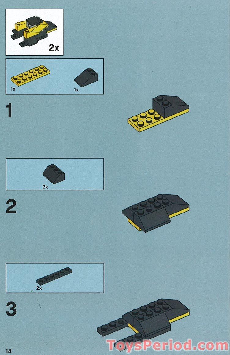 Lego Assassin Droid Battle Pack Instructions