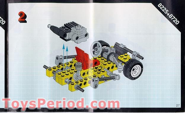 Lego 8225 Road Rally V Set Parts Inventory And Instructions Lego