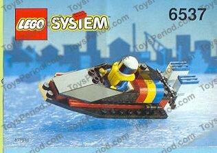 6537 Vintage LEGO System Hydro Racer