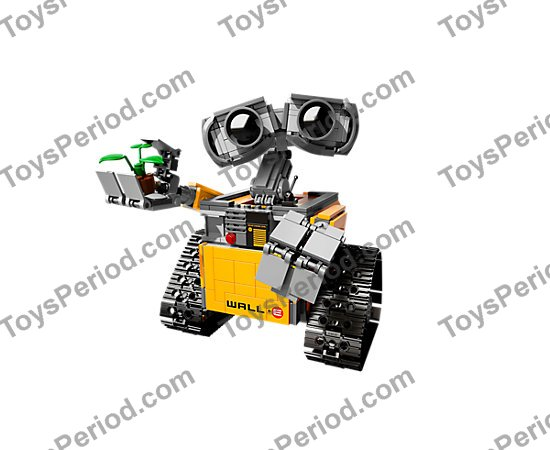 Lego 21303 Walle Set Parts Inventory And Instructions Lego