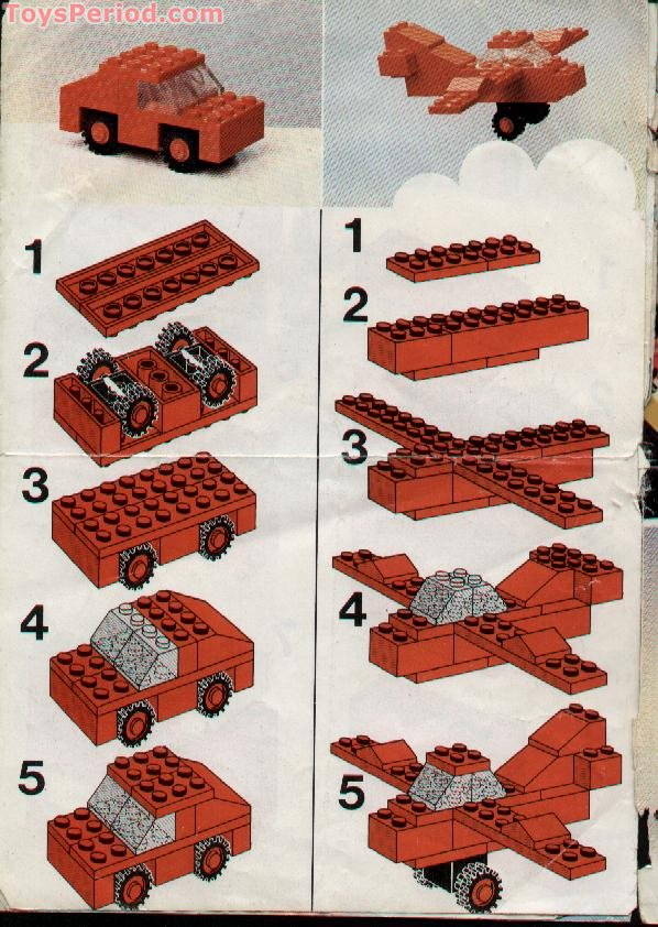 Lego Red Sports Car Instructions